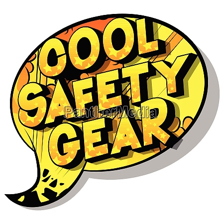cool safety gear comic book