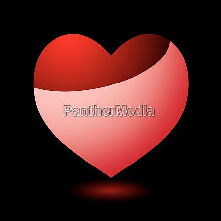 cuore del giorno di san valentino