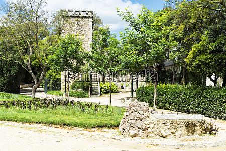 ruinas, fingidas, palácio, real, de, don, manuel, jardim - 26493278