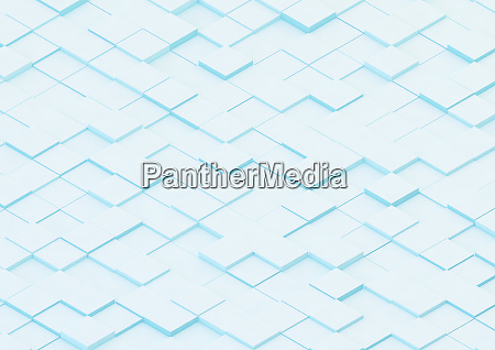 piso abstrato de blocos quadrados irregulares