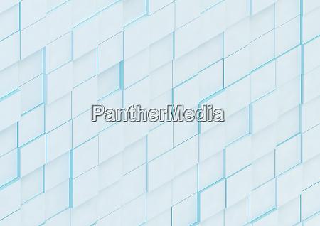 parede abstrata de blocos quadrados irregulares