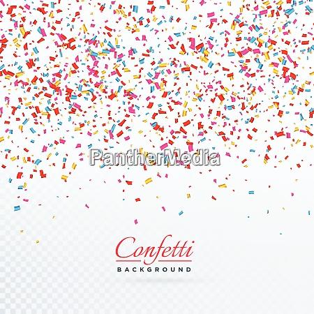 confetes surpresa feliz aniversario papel cor
