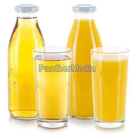 suco de laranja e maca bebem