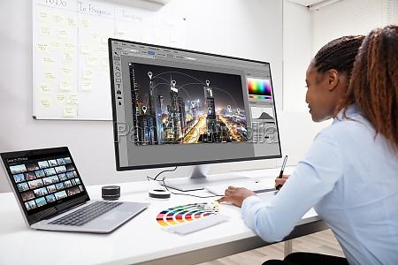 fotos de edicao de designers no