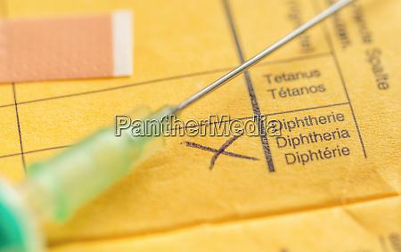 vacinacao vacinar doenca saude difteria dor