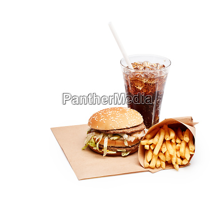 refeicao de fast food
