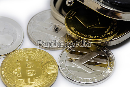 stack of cryptocurrenciesm bitcoin and altcoin