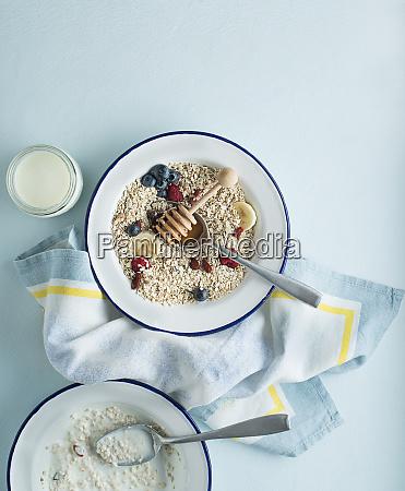 farinha de aveia do cereal
