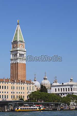 campanile bell tower and domes of