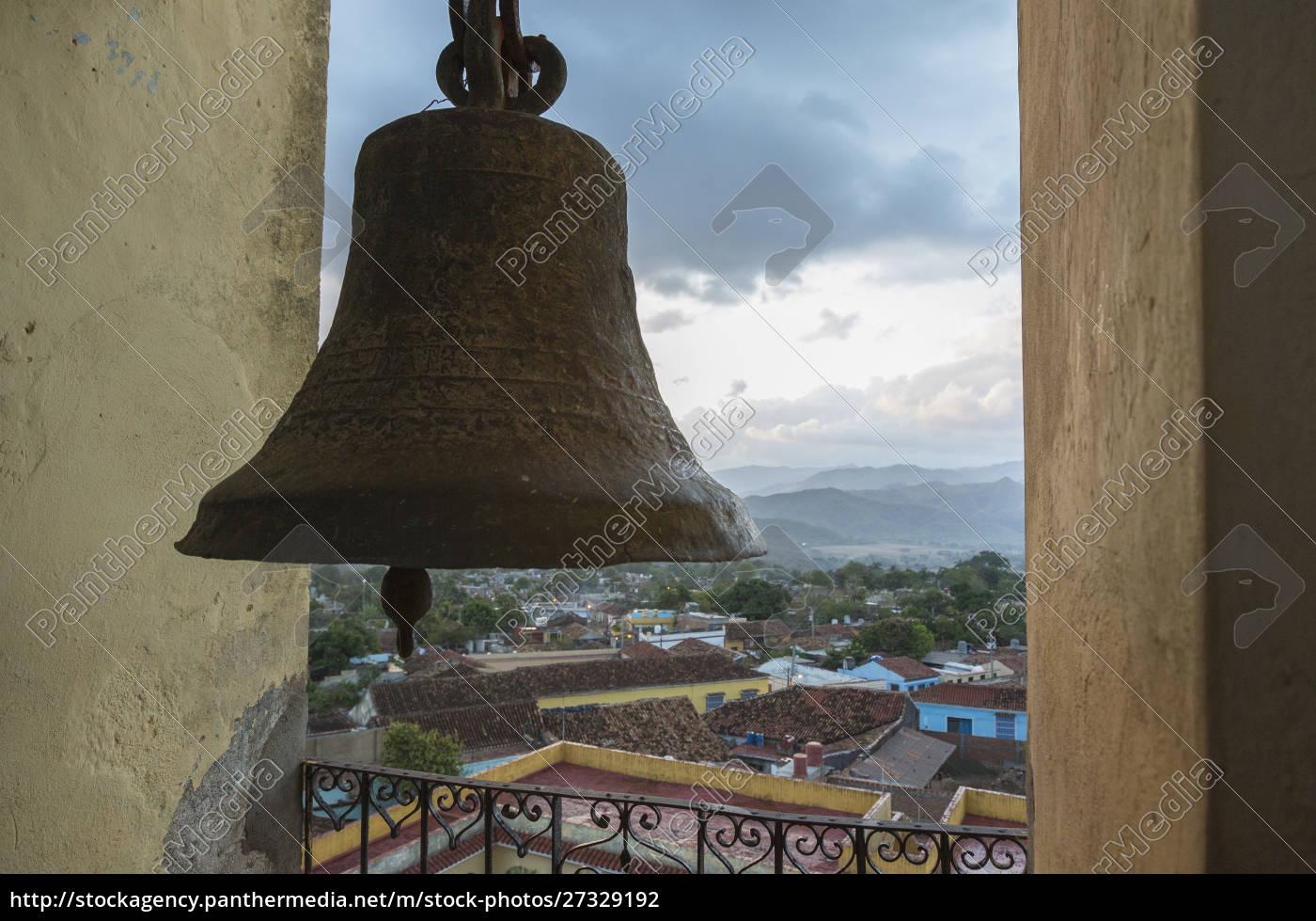 cuba, trinidad., vista, da, cidade, da, torre - 27329192