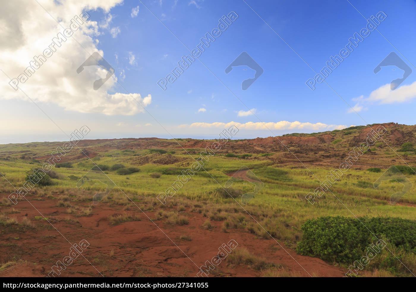 kaehiakawaelo, (jardim, dos, deuses), uma, paisagem, marciana - 27341055