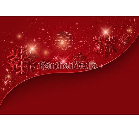 fundo de natal vermelho com flocos