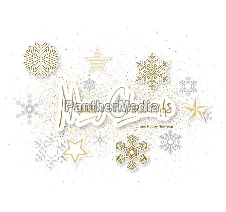 fundo de natal branco com ornamentos