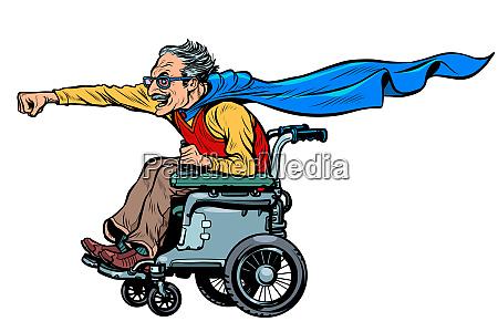 homem ativo cadeirante deficiente