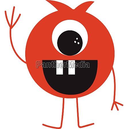 vetor, engraçado, do, monstro, ou, ilustração - 27502190