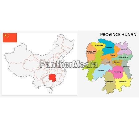 mapa administrativo e politico da provincia