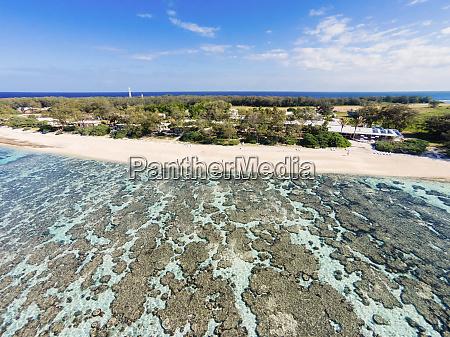 vista aerea da ilha lady elliot