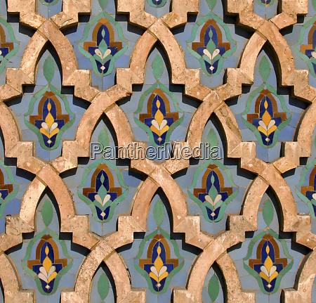 norte da Africa marrocos casablanca detalhe