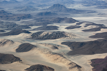africa namibia damaraland aerial view of