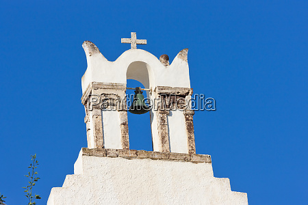 church on the coast of aegean