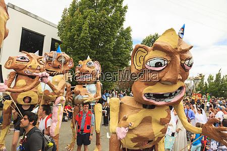 desfile anual de fremont solstice seattle