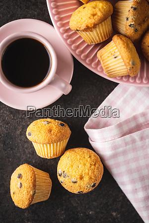 bolinhos, de, chocolate, saborosos., cupcakes, doces. - 28135254