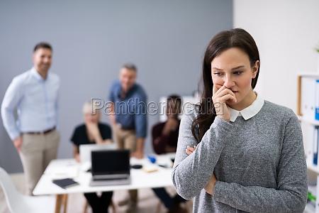 retrato, de, uma, empresária, infeliz - 28135166