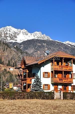 predazzo italia feriado esqui inverno alpes