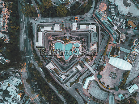 vista aerea dos edificios de hong