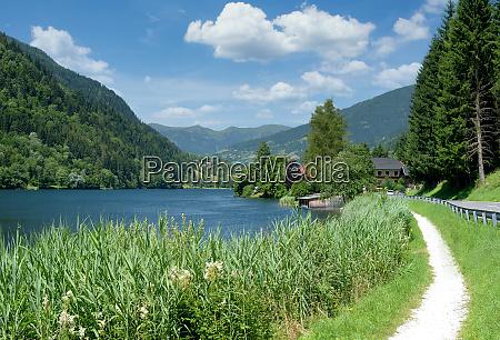 lago afritzer ver carintia Austria