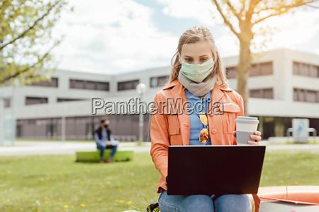 aprendizagem de estudante no campus universitario