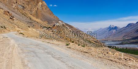ki monastery spiti valley india