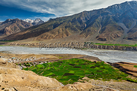 view of spiti valley and spiti