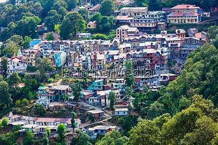 hill station dalhousi town himachal pradesh