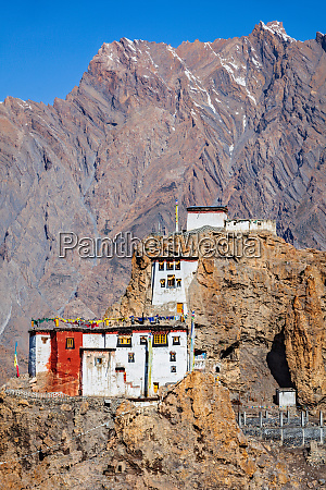 dhankar gompa monastery himachal pradesh