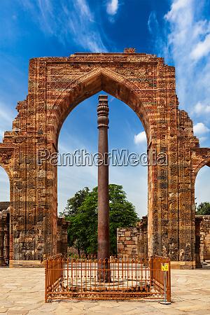 iron, pillar, in, qutub, complex - 28470072