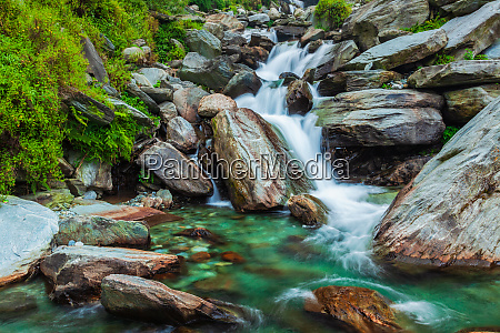 bhagsu waterfall bhagsu himachal pradesh india