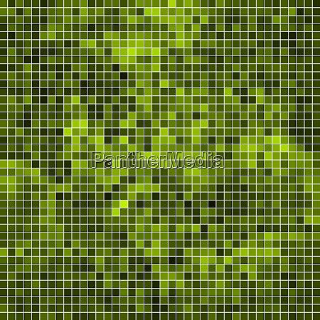 fundo de mosaico de pixel quadrado