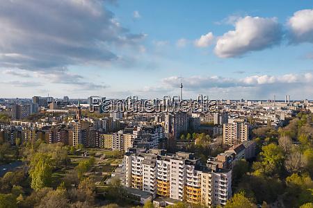 alemanha berlim vista aerea do distrito