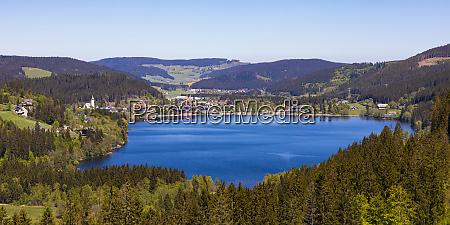 alemanha baden wurttemberg titisee neustadt panorama