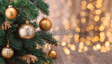 decoração, de, natal, com, bolas, e - 28784755
