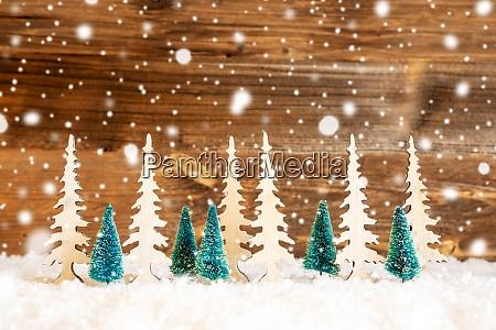 Arvore de natal neve fundo de