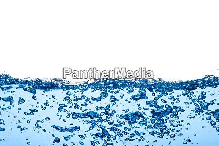 superficie de ondulacao de fluxo limpo