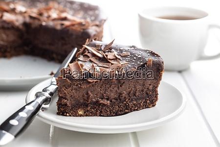 bolo de queijo de chocolate doce