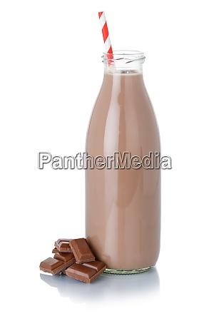 milkshake de chocolate shake em uma