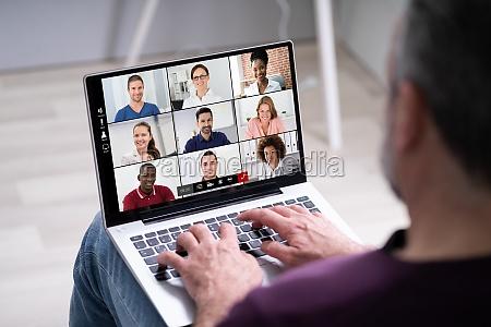 videoconferencia chamada on line
