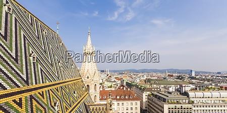 Austria viena paisagem urbana com telhas