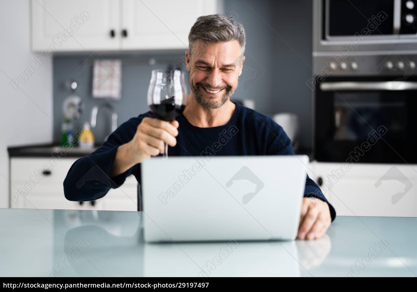 evento, virtual, de, degustação, de, vinhos - 29197497
