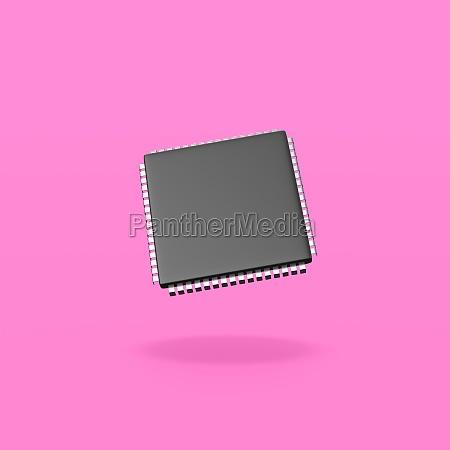 microchip, eletrônico, no, fundo, roxo - 29646235