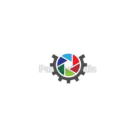 camera, shutter, , logo, gear - 29700908